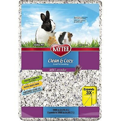 Kaytee Clean and Cozy Bedding Lavender 1000-Cubic-Inch