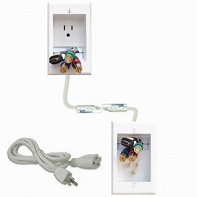 PowerBridge Solutions One-Ck Cable Management System with PowerConnect for Wa...
