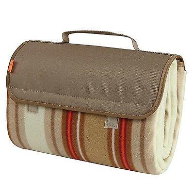 Yodo Compact Water-Resistant Picnic Blanket Tote (59 X 53 inches) with Soft F...