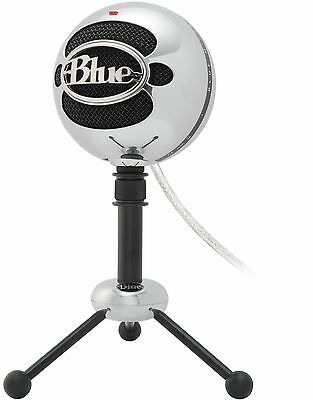 Blue Microphones Snowball USB Microphone (Brushed Aluminum) Brushed Aluminum