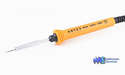 Antex XS-25 25W 230v Soldering Iron complete with PVC Cable and Plug