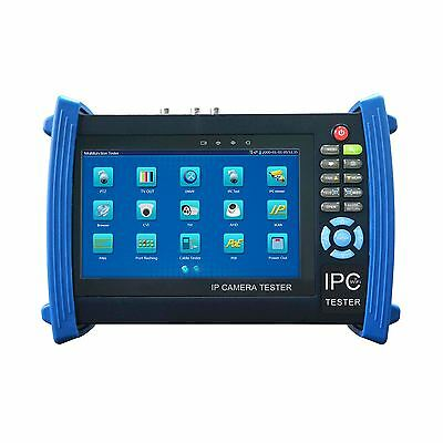 "7"" IP AHD TVI CVI CVBS ONVIF 1080p CCTV Camera IPC Tester Monitor Display WIFI"