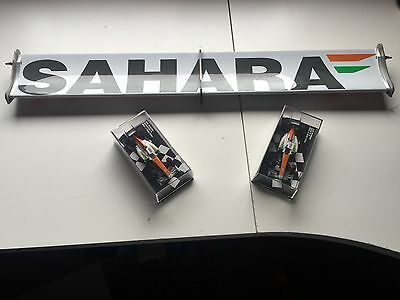 Force India 2012 VJM05 FORMULA 1 Authentic Race Used DRS Flap Promotion special