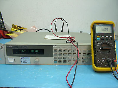Agilent 6634B 0-100V 0-1A system DC power supply GPIB