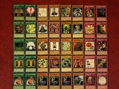 Yu-Gi-Oh Magician Deck - 40 cards complete BONUS 5 cards