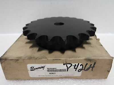 "Browning 60B21 Sprocket, #60, 21Teeth,  3/4"" Rough Bore"