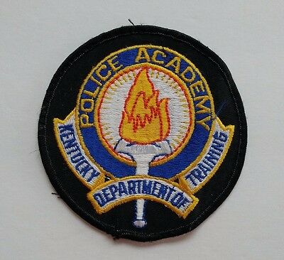 Kentucky Department of Training Police Academy Patch