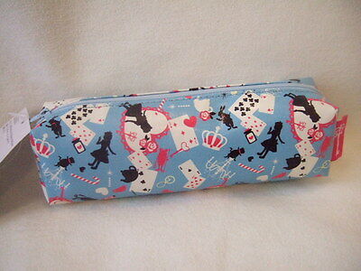 Disney  Alice in wonderland pencase blue tramp