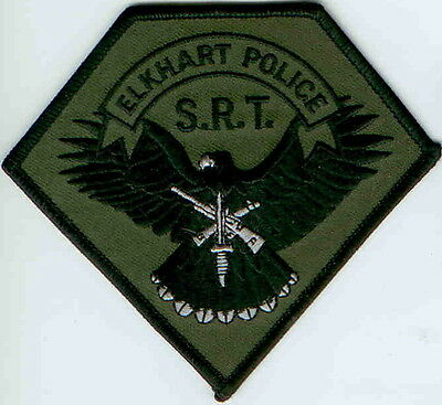 Elkhart Police S.R.T Swat  Police Patch Indiana IN NEW