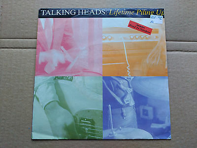 Single Talking Heads - Lifetime Piling Up - Emi Europe 1992 Vg+