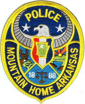 Mountain Home Police Patch Arkansas AR NEW!!