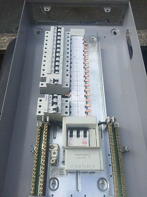 Eaton MEM Memshield 2 12 Way 3 Phase Distribution Board with MCBs Lot 1