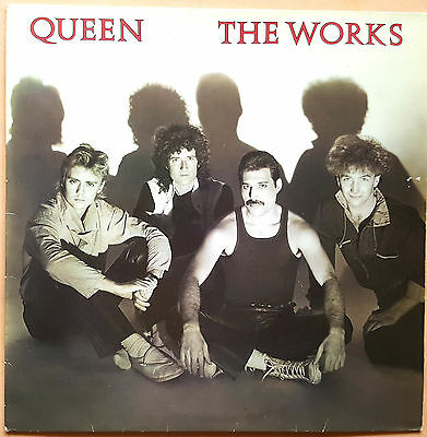 Vinilo Queen The Works (Spain 1984) 33 Rpm 👌
