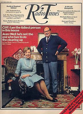 Radio Times 4 July 1970 . Golf - The Open . Tennis - Wimbledon Issue