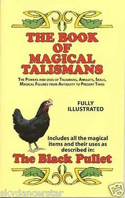 The Book Of Magical Talismans Black Pullet Wicca Pagan Spell Ritual Cat Resq