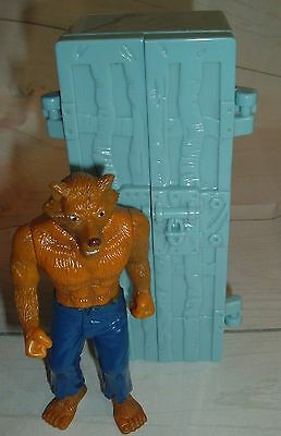 Wolvadon 2003 Taco Bell Werewolf in Coffin Toy Wolf Man Action Figure rare