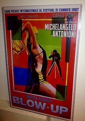 Blow Up Vanessa Redgrave 1967 Cannes Film Festival 11X17 Poster Print w/ Protect