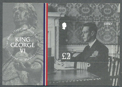 Jersey-King George IV- Min sheet 2017 Royalty