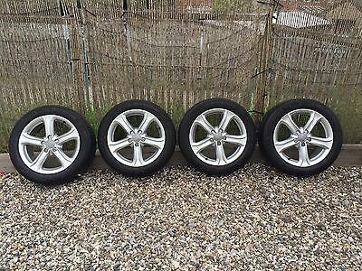 Genuine Audi A4 17 Inch Alloy Wheels And Tyres