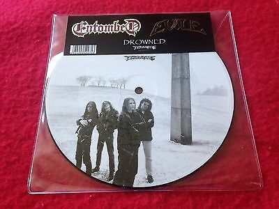 "Entombed Evile Drowned Rsd 2013 Mint Unplayed Vinyl 7""  Picture Disc"