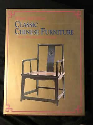 Classic Chinese Furniture Ming & Early Qing Dynasties Wang Shixiang