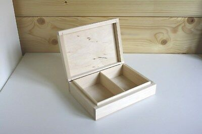 Wooden playing cards box for two decks
