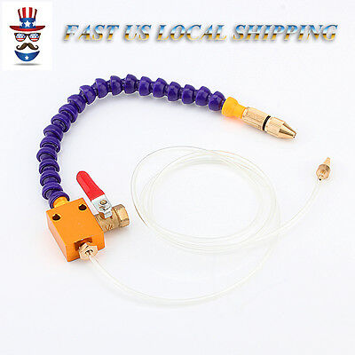 Mist Coolant Mist Lubrication Cooling System for CNC Lathe Milling Drill Machine