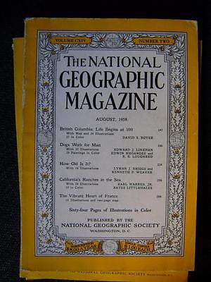 National Geographic Magazine   Vol 114 No.2, August 1958