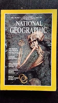 National Geographic Vol 165 No.5 (May 1984) - Very Good condition