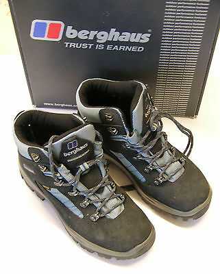 Berghaus Women's Ladies Explorer V GTX W.  BLUE  Walking Boots Size UK 5 Womens