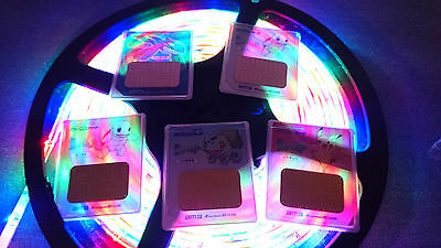 Pokemon Japanese nintendo DS, DSVision AM cards tv series memory lot, pikachu ++