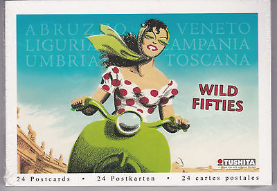 WILD FIFTIES...a book of 24 color postcards (German import)