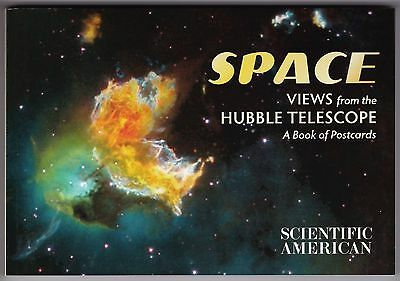 SPACE: VIEWS FROM THE HUBBLE TELESCOPE...a book of 30 color postcards