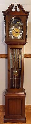 grandfather clock- excellent cond/ Brand new Hermle movement/Westminster chimes