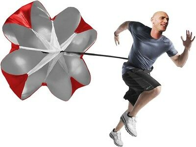 "New 48"" Sports running power training Speed Chute resistance exercise parachute"