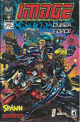 IMAGE 3 Cyber Force. Image. Con Spawn, Youngblood. Ottimo, imbustato