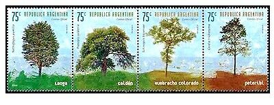 (1999) GJ.2981-84. Trees. Complete 4-stamp set. MNH Excellent condition.