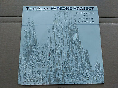 Single Promo The Alan Parsons Project - Standing On Higher Ground - Spain 1987