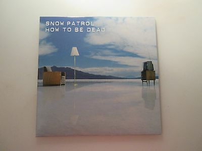 "Snow Patrol VINYL How To Be Dead 7"" Single Record Polydor 2004"