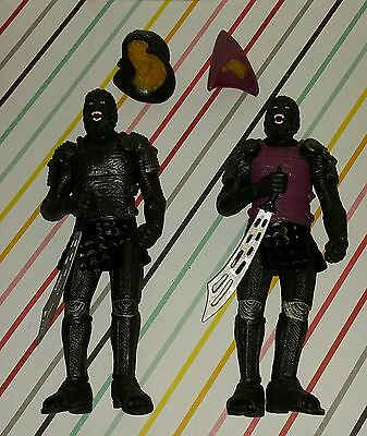 Lot of 2 2001 Tim Burton Planet of the Apes China Bootleg Figures
