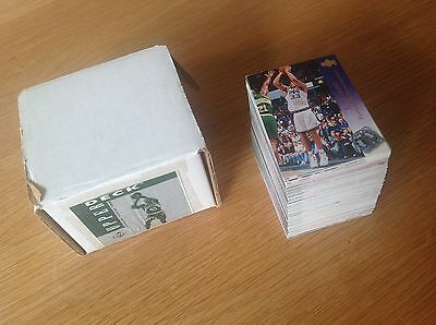 Complete set Upper Deck 94-5 Series 2 NBA Basketball Trading Cards