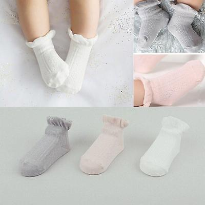 FlyingP 3Pairs Baby Anti Slip Non Skid Socks Infant Toddler No Show Crew...