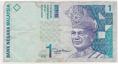 (N2-153) 1998 Malaysia 1 Ringgit bank note (D)
