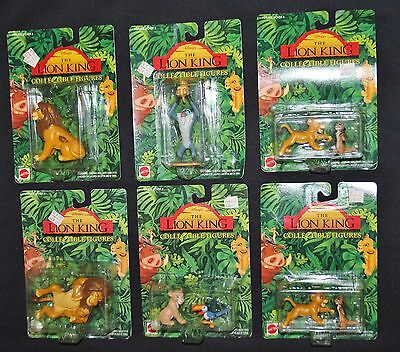Disney The Lion King Collectible Figures Mattel 1994 NEW
