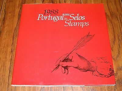 1988 PORTUGAL in STAMPS YEAR BOOK MINT STAMPS ~ #006997 of 15,000 ~Authenticated