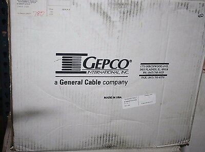 780ft Gepco VSD2001TS Plenum RG6/U HD-SDI 4.5GHz Low-Loss Video Coax Cbl Blu