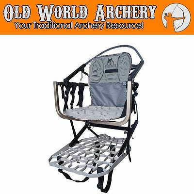 Lone Wolf Wide Sit and ClimbII Treestand 45574