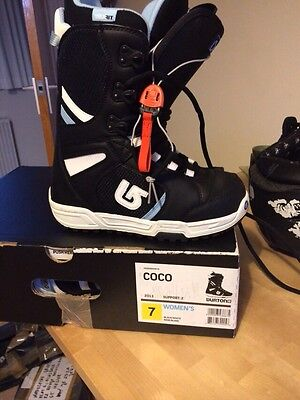 Burton Coco Snowboarding Boots UK Size 5- Only Used Once