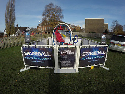 Spaceball - Human Gyroscope Ride - Complete Business for Sale on own Trailer