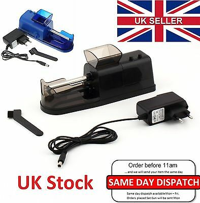Electric Automatic Cigarette Maker,Injector Rolling Machine Tobacco Roller UK